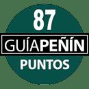 87 puntos Guía Peñín