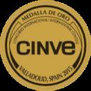 Medalla De Oro Premios Cinve