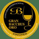 Medalla de Gran Oro Bacchus 2019